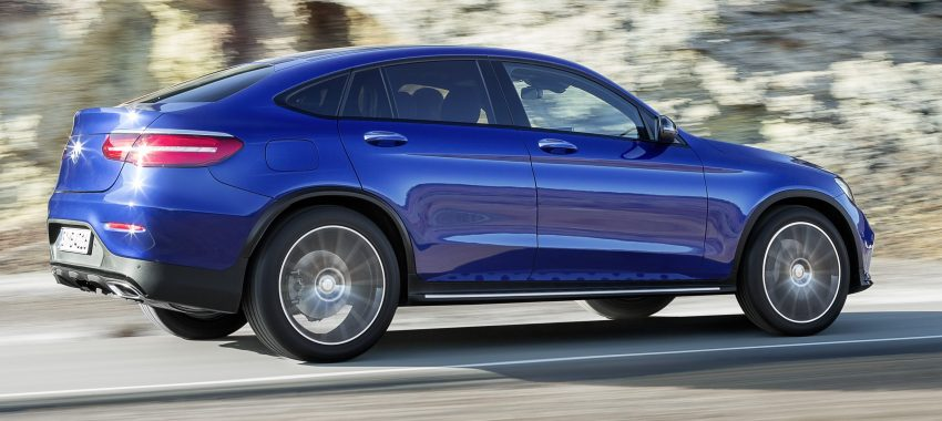 Mercedes-Benz GLC Coupe breaks cover in New York Image #464754