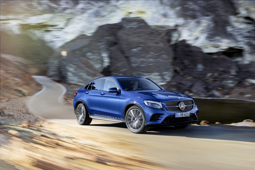 Mercedes-Benz GLC Coupe breaks cover in New York Image #464755
