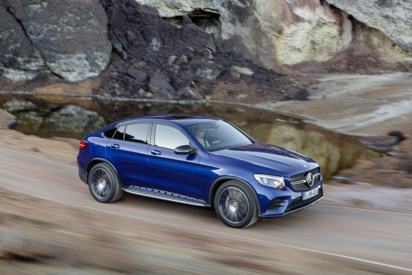 Mercedes-Benz GLC Coupe breaks cover in New York Image #464756