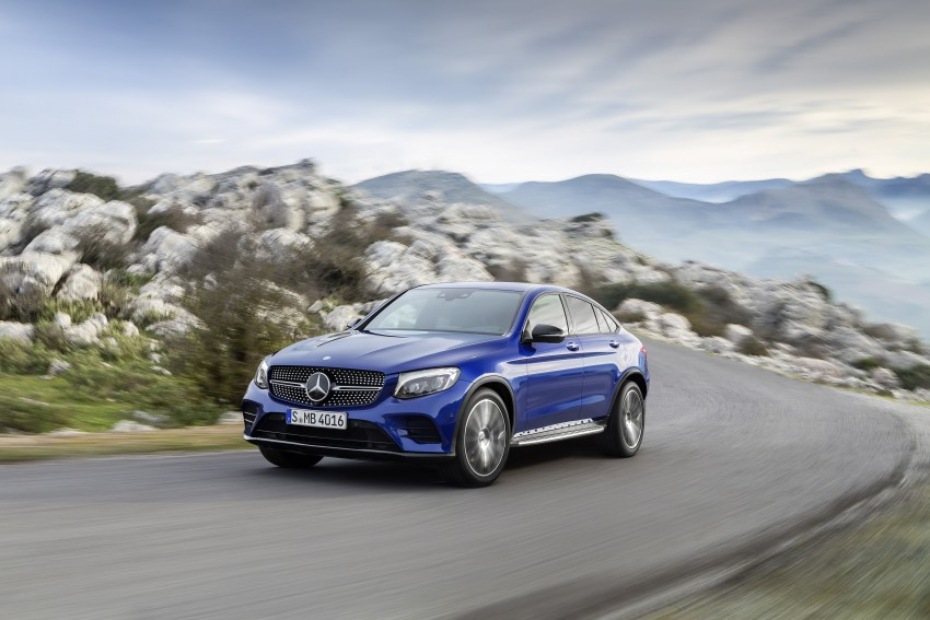 Mercedes-Benz GLC Coupe breaks cover in New York Image #464757