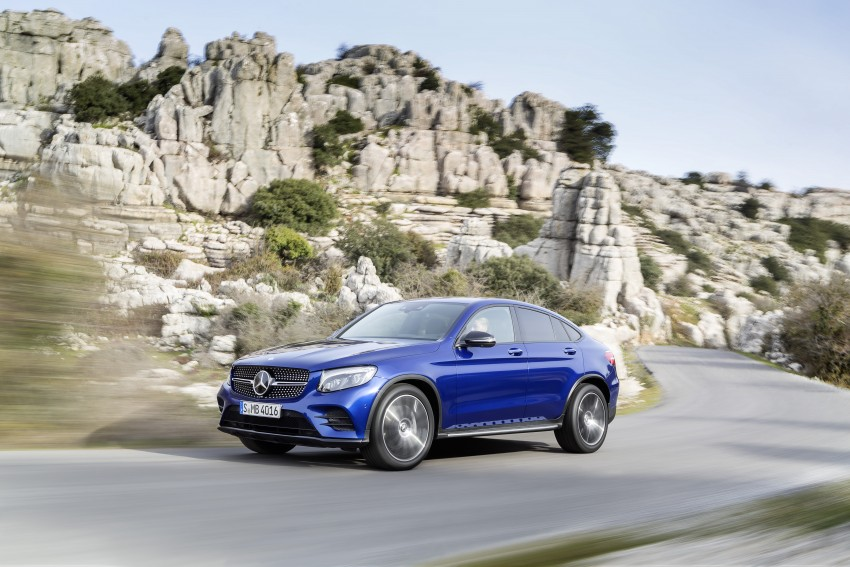 Mercedes-Benz GLC Coupe breaks cover in New York Image #464759