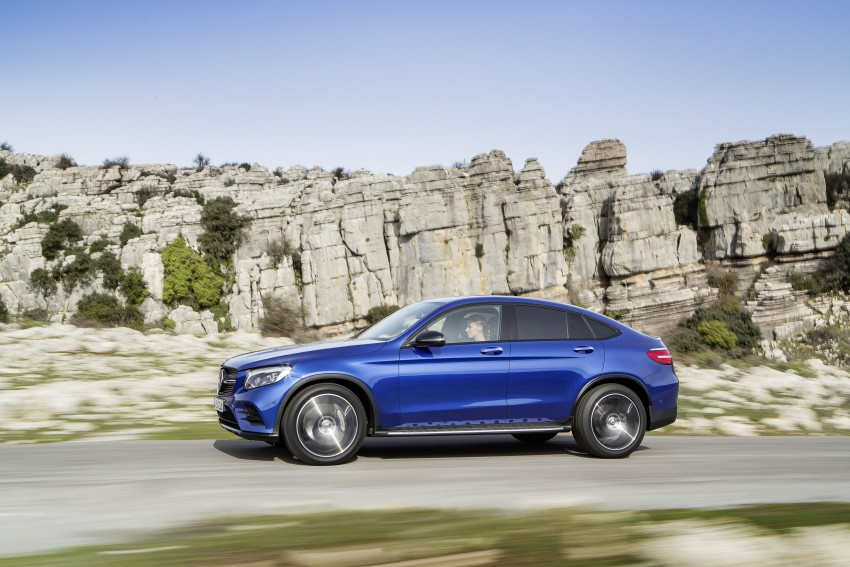 Mercedes-Benz GLC Coupe breaks cover in New York Image #464760