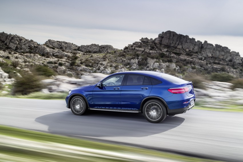 Mercedes-Benz GLC Coupe breaks cover in New York Image #464761