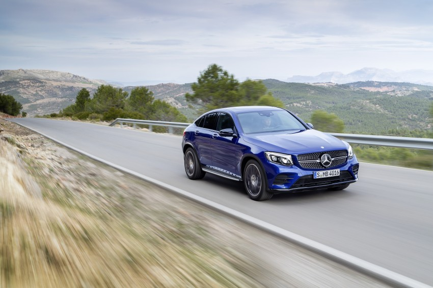 Mercedes-Benz GLC Coupe breaks cover in New York Image #464762