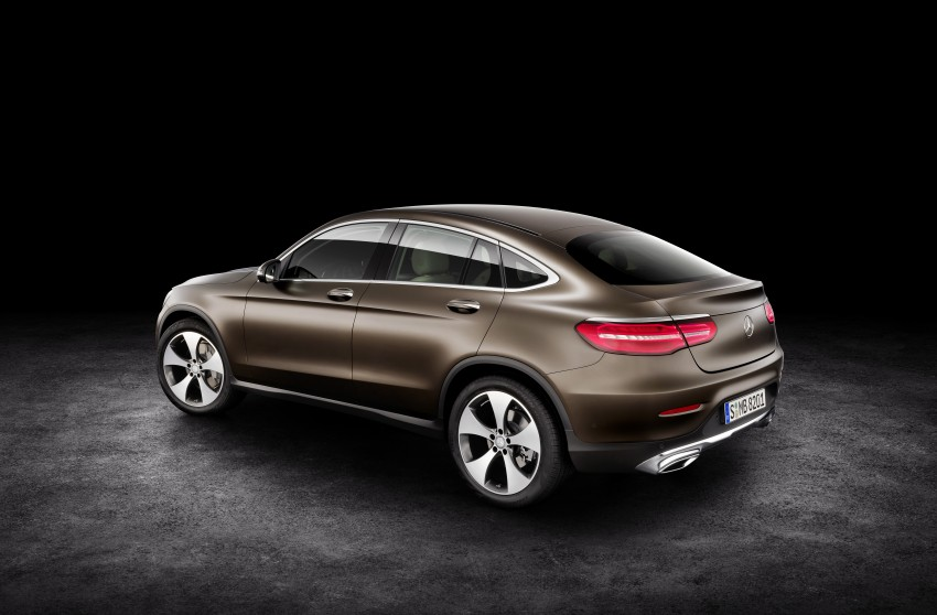 Mercedes-Benz GLC Coupe breaks cover in New York Image #464744
