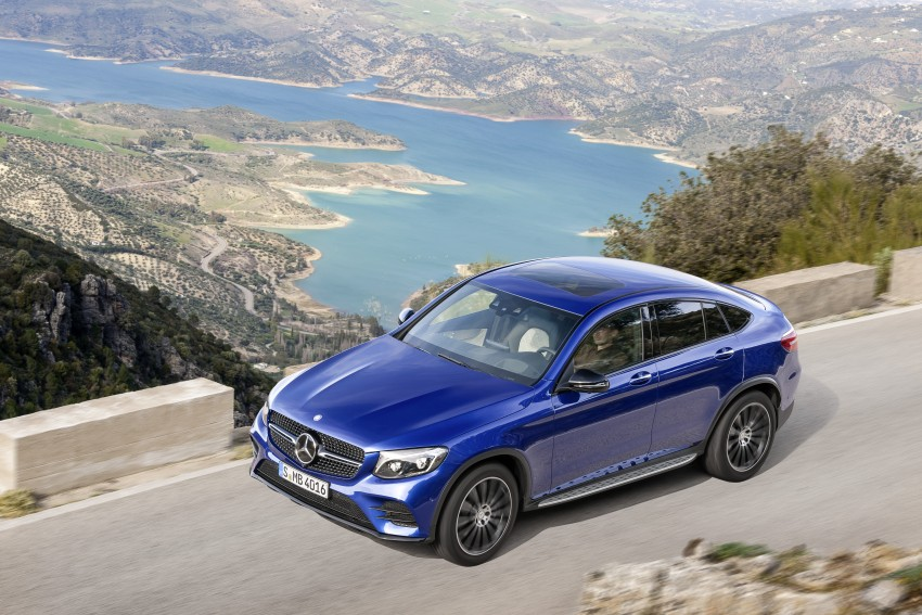 Mercedes-Benz GLC Coupe breaks cover in New York Image #464764
