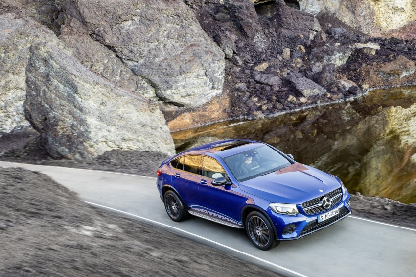 Mercedes-Benz GLC Coupe breaks cover in New York Image #464766