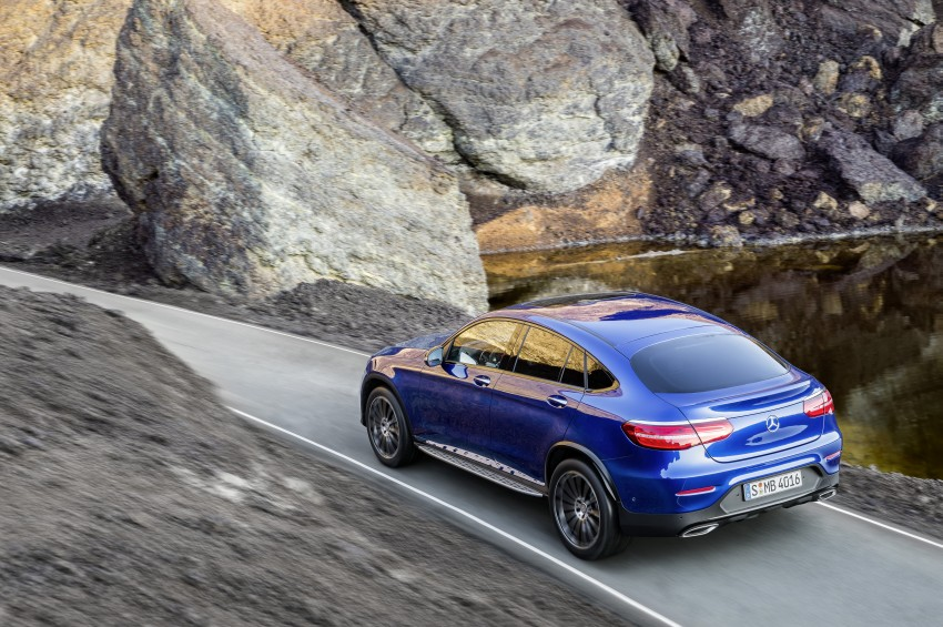 Mercedes-Benz GLC Coupe breaks cover in New York Image #464767