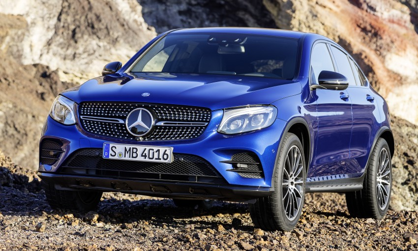 Mercedes-Benz GLC Coupe breaks cover in New York Image #464768