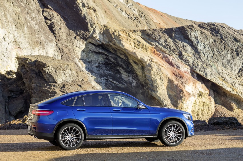 Mercedes-Benz GLC Coupe breaks cover in New York Image #464769