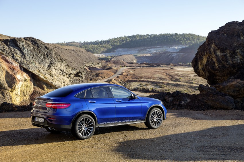 Mercedes-Benz GLC Coupe breaks cover in New York Image #464770