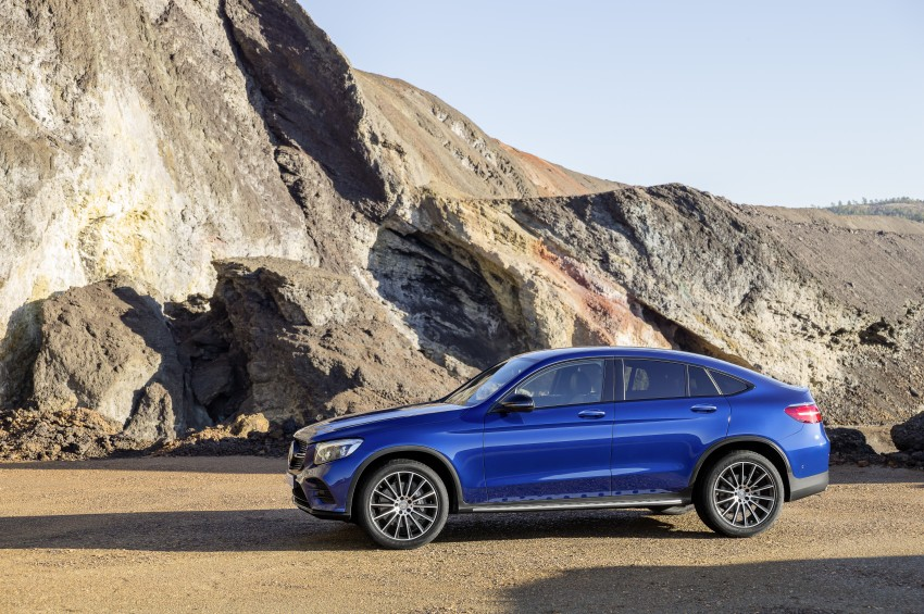 Mercedes-Benz GLC Coupe breaks cover in New York Image #464771