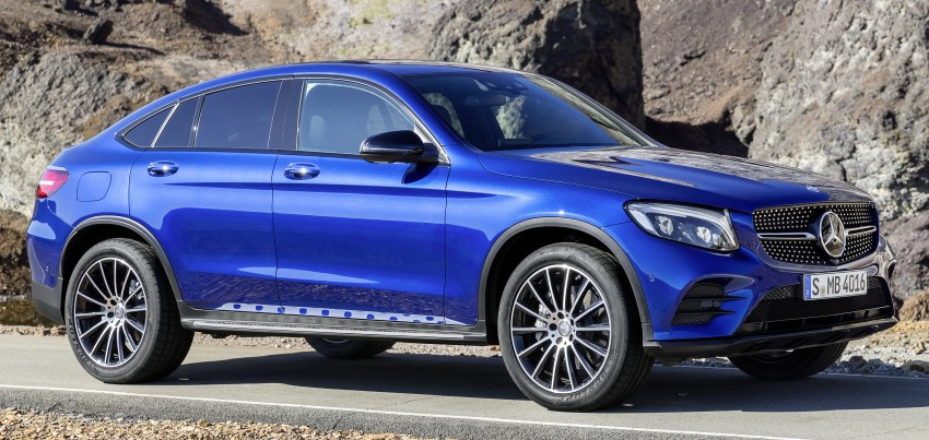 Mercedes-Benz GLC Coupe breaks cover in New York Image #464772