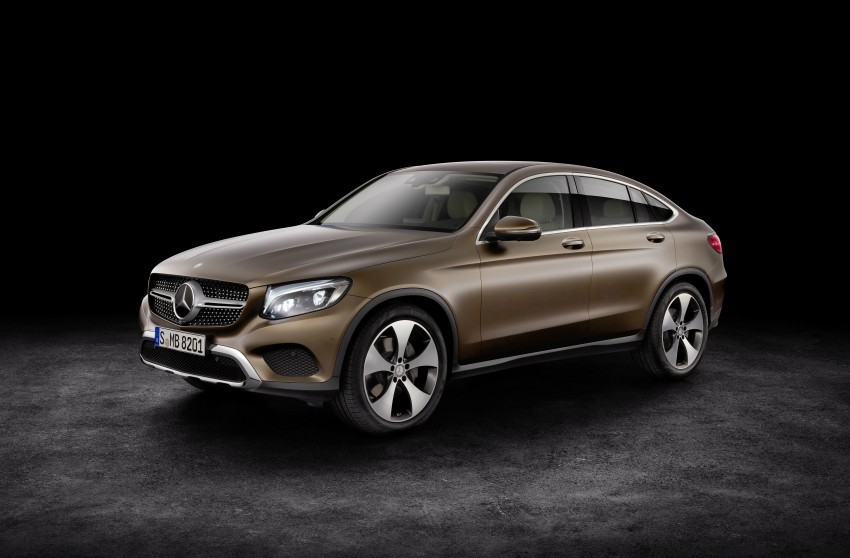 Mercedes-Benz GLC Coupe breaks cover in New York Image #464745
