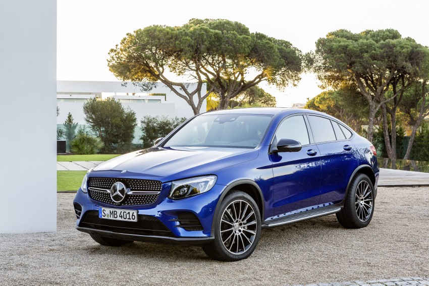 Mercedes-Benz GLC Coupe breaks cover in New York Image #464773