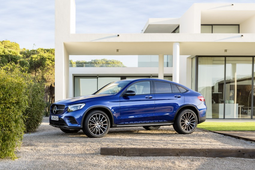 Mercedes-Benz GLC Coupe breaks cover in New York Image #464774