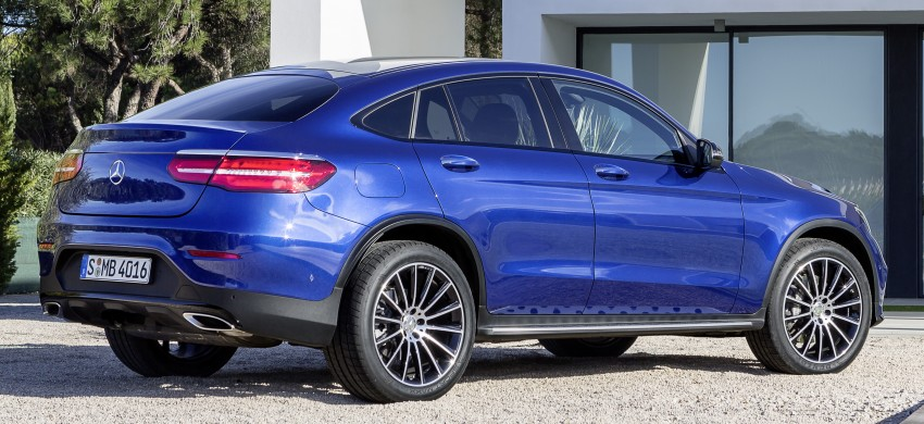 Mercedes-Benz GLC Coupe breaks cover in New York Image #464776