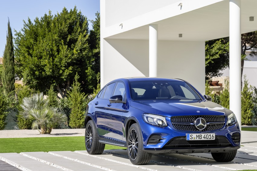 Mercedes-Benz GLC Coupe breaks cover in New York Image #464777