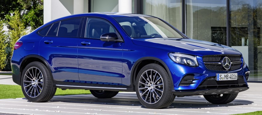 Mercedes-Benz GLC Coupe breaks cover in New York Image #464778