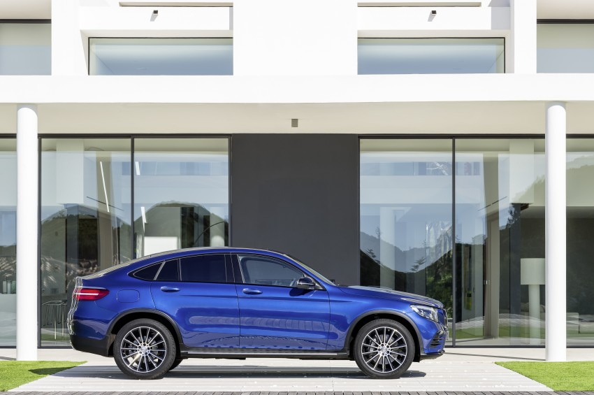 Mercedes-Benz GLC Coupe breaks cover in New York Image #464779