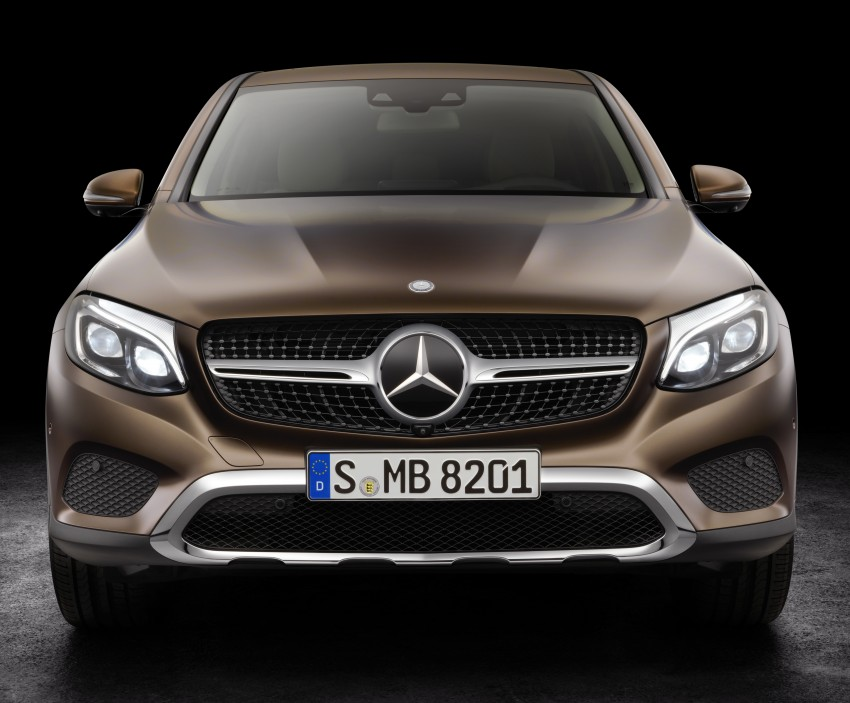 Mercedes-Benz GLC Coupe breaks cover in New York Image #464746