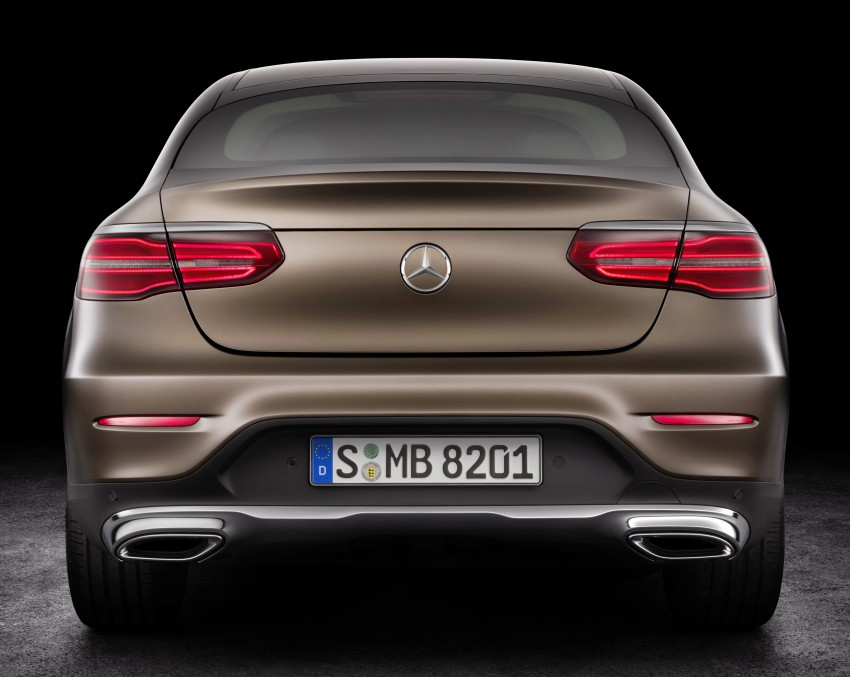 Mercedes-Benz GLC Coupe breaks cover in New York Image #464747