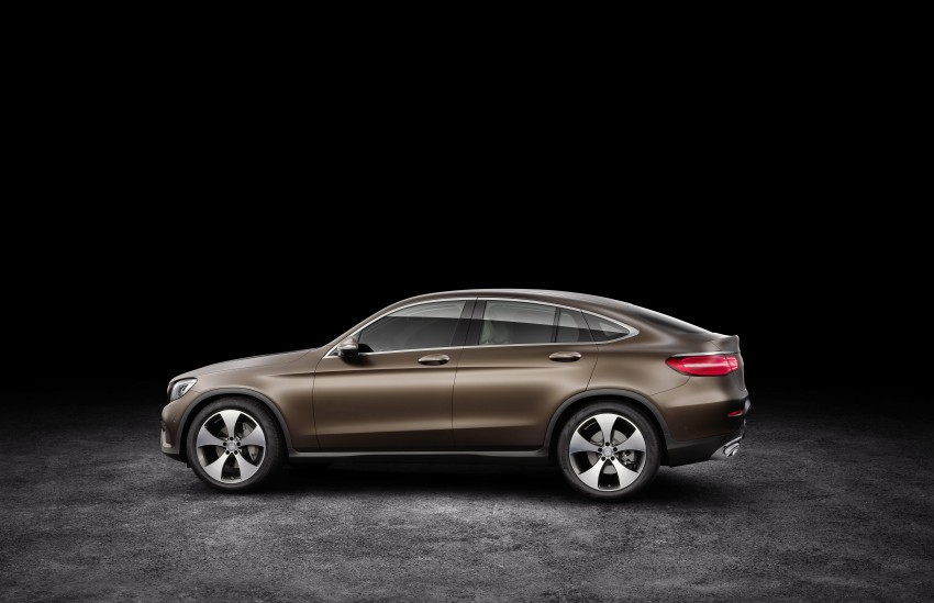 Mercedes-Benz GLC Coupe breaks cover in New York Image #464748