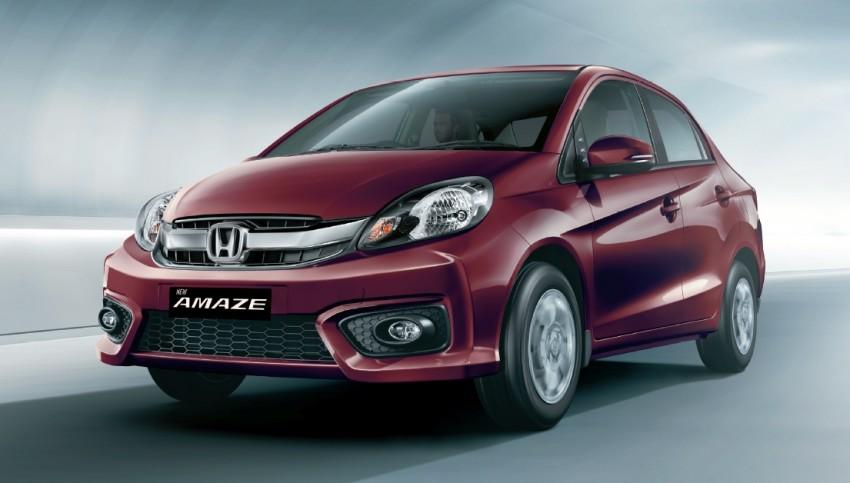 Honda Brio Amaze sedan facelift makes debut in India Image #454920