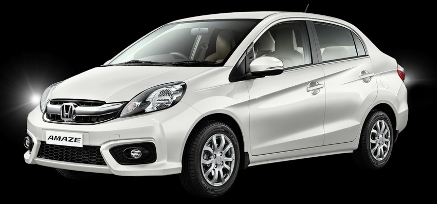 Honda Brio Amaze sedan facelift makes debut in India Image #454904