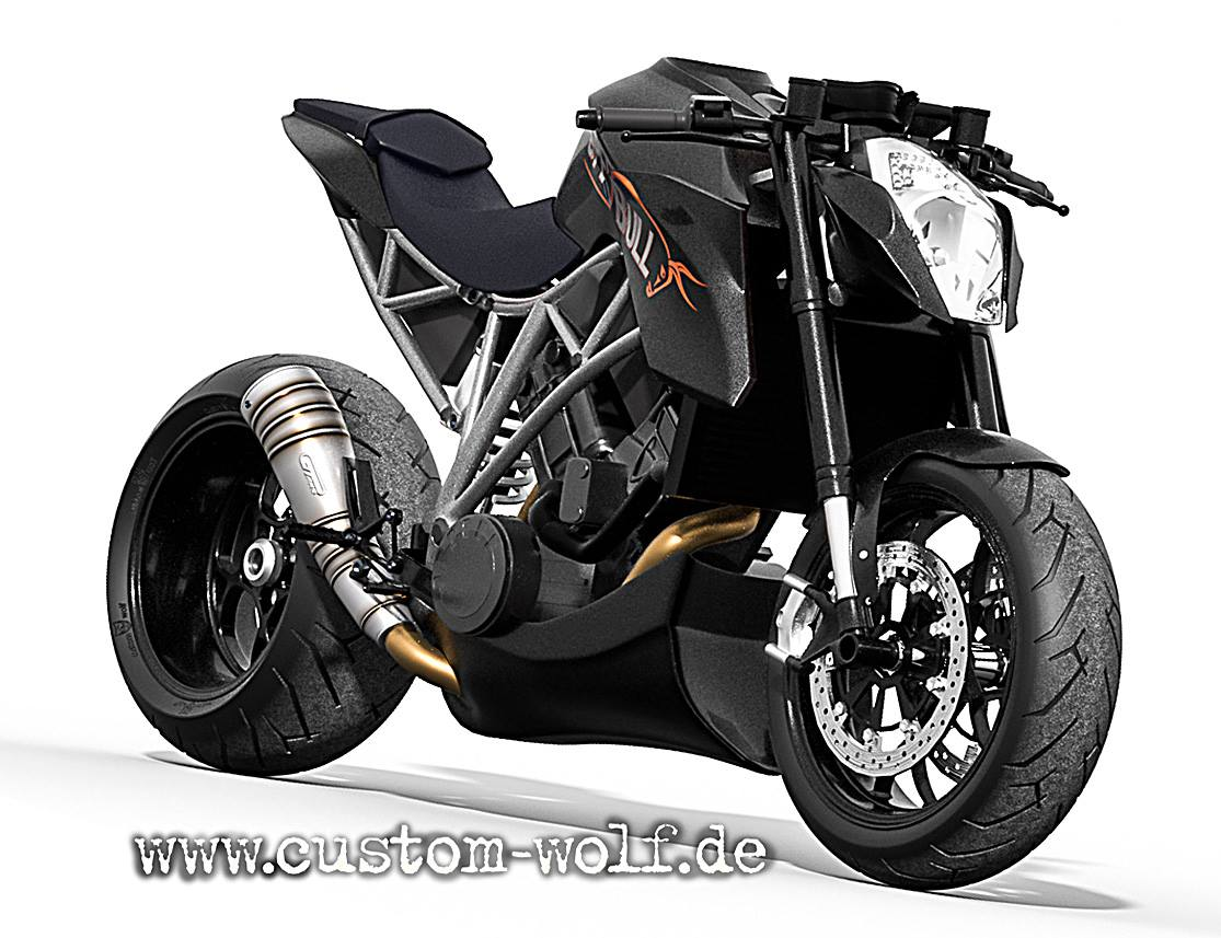 ktm  super duke    speed bull
