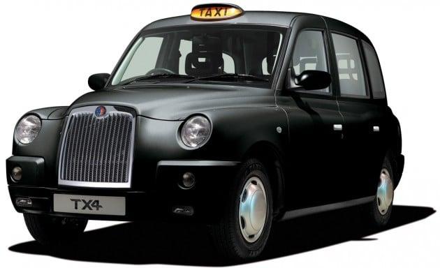 london cab tx4