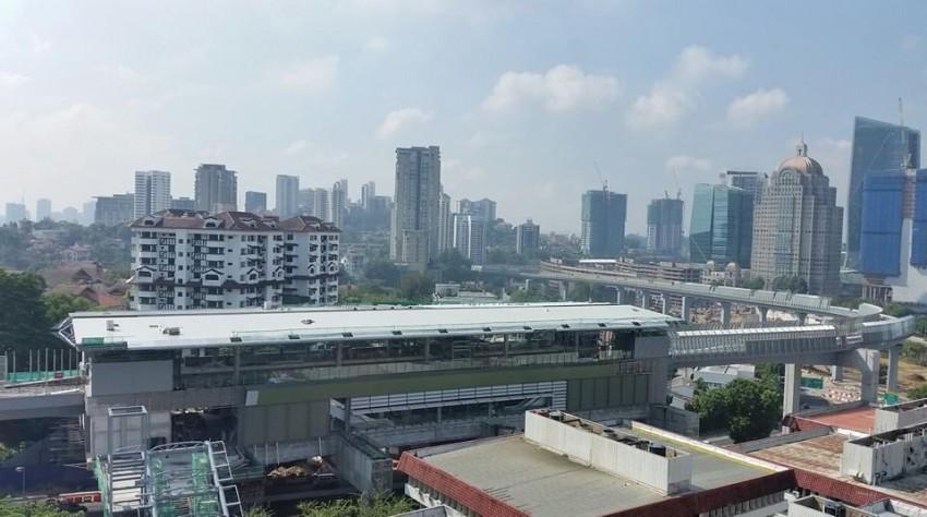 MRT: Temp lane closure at Jalan Semantan, PJ-bound Image #460008