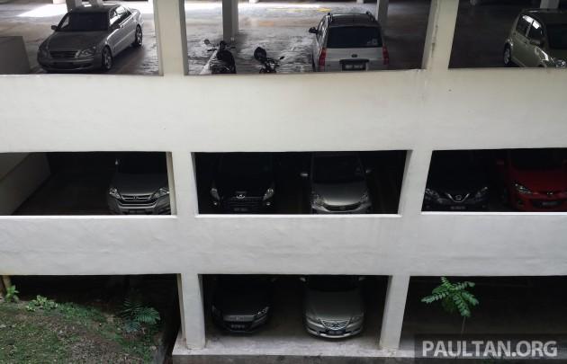 multi-level carpark