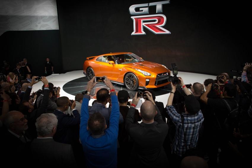 2017 Nissan GT-R shown – more premium, more power Image #465910