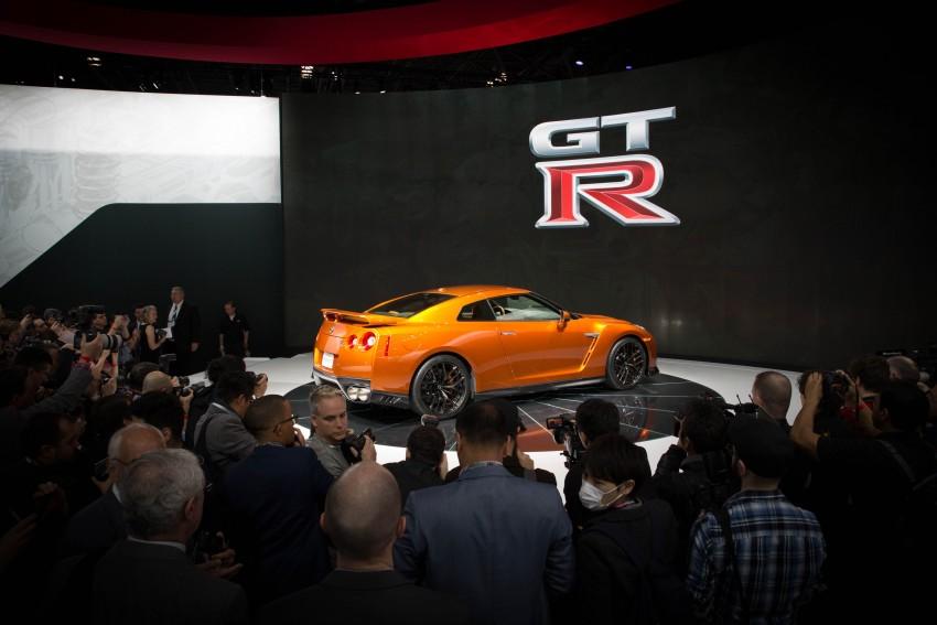 Nissan GT-R 2017 – Lebih premium, lebih berkuasa Image #466122