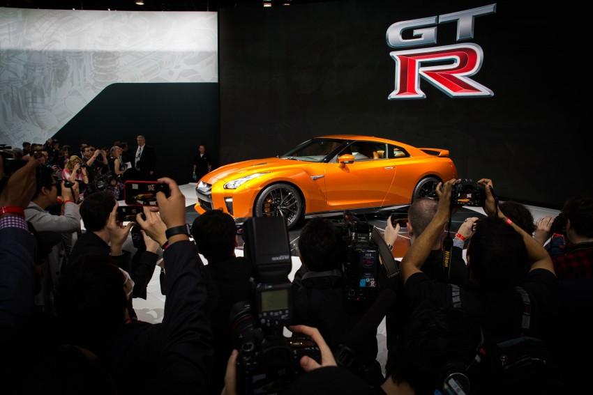 2017 Nissan GT-R shown – more premium, more power Image #465912