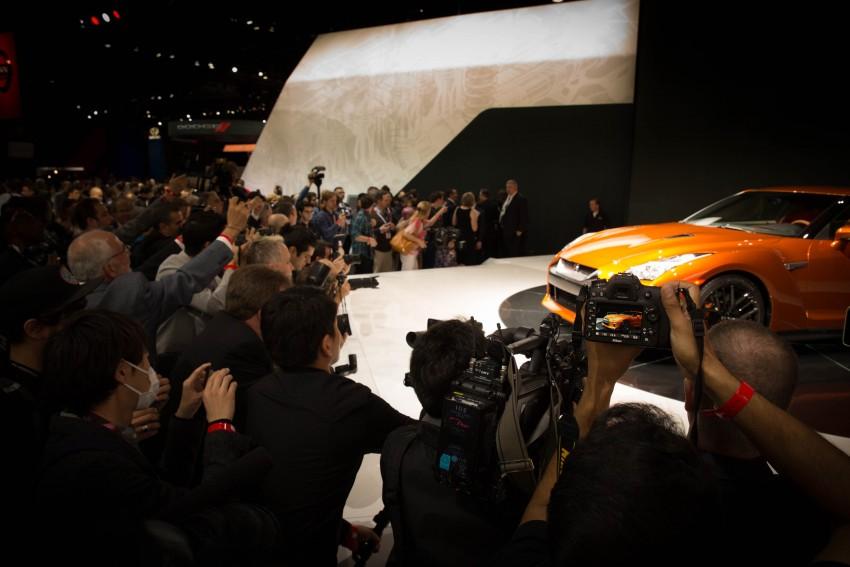 2017 Nissan GT-R shown – more premium, more power Image #465915