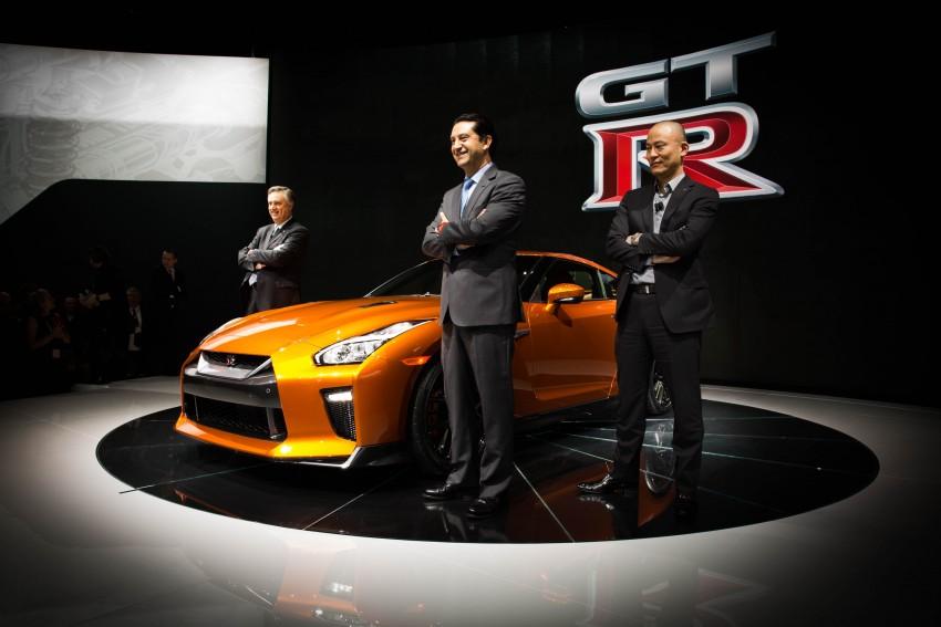 2017 Nissan GT-R shown – more premium, more power Image #465916