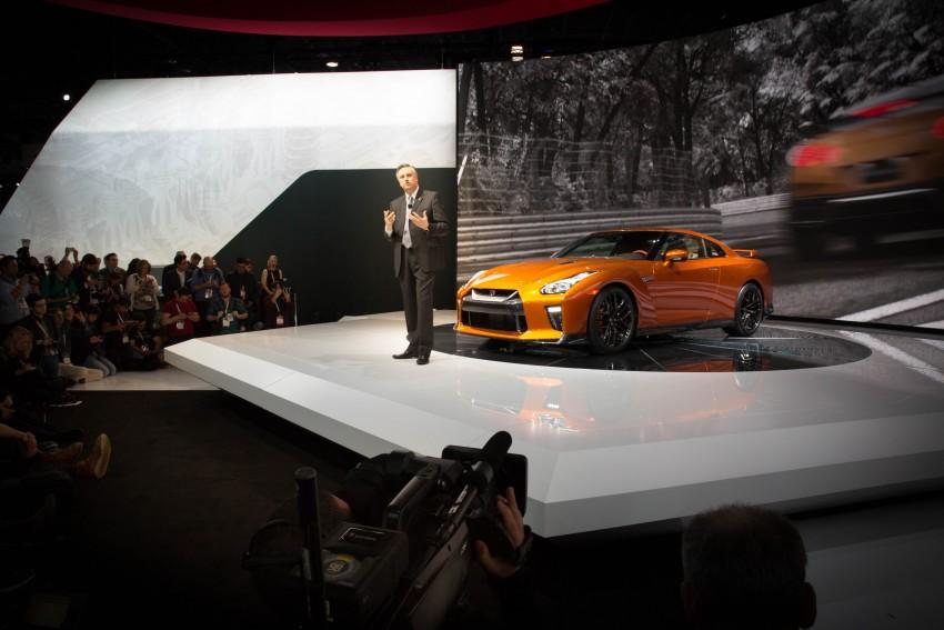 2017 Nissan GT-R shown – more premium, more power Image #465917
