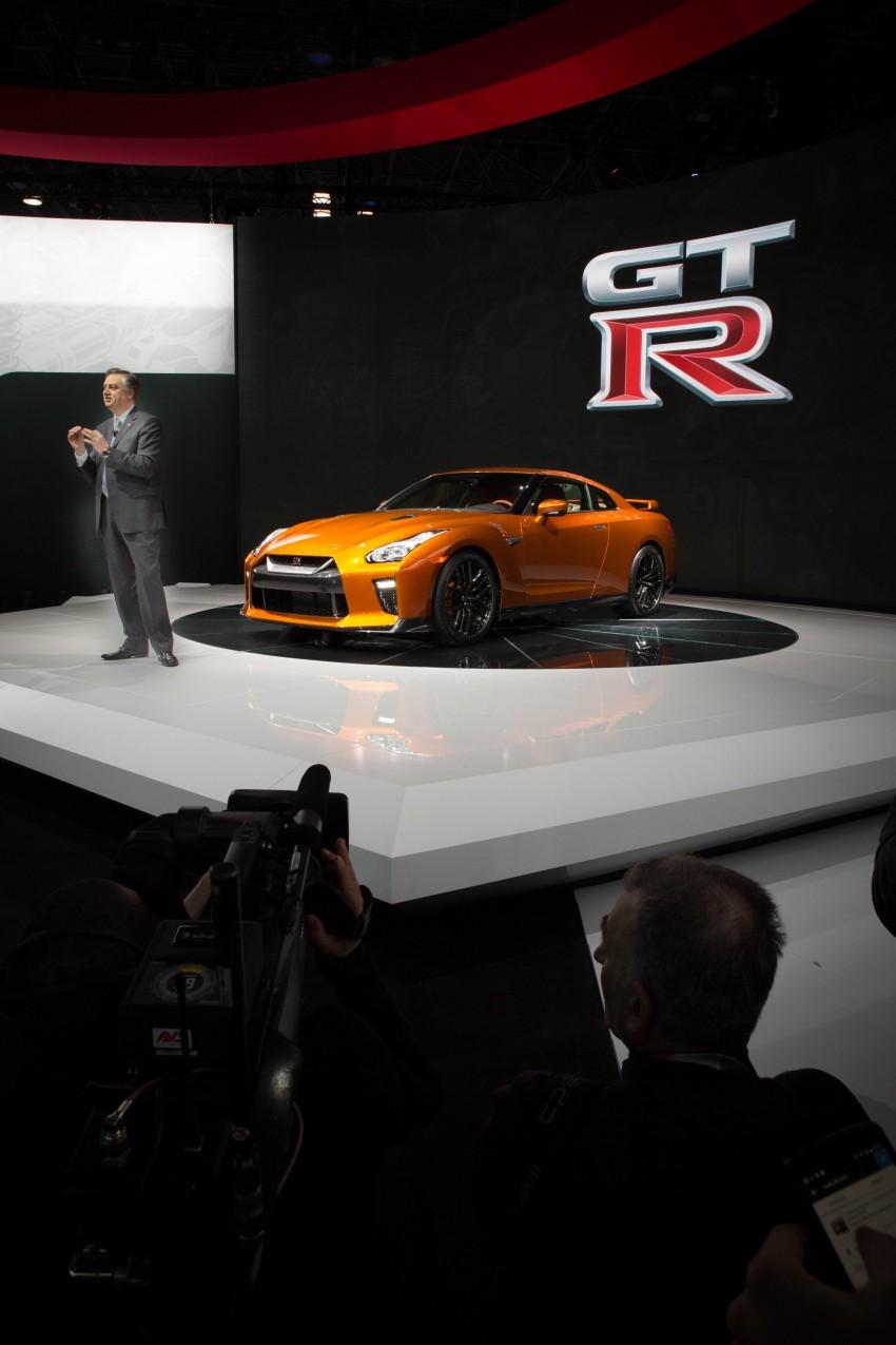 2017 Nissan GT-R shown – more premium, more power Image #465918