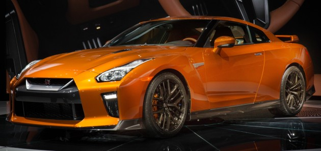 f7abb3eda5a4cf 2017 Nissan GT-R shown – more premium, more power