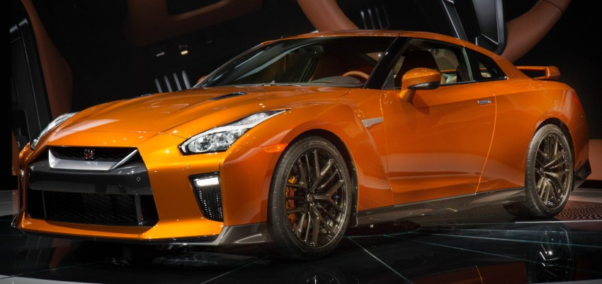 2017 Nissan GT-R shown – more premium, more power Image #465921
