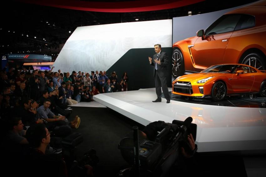 2017 Nissan GT-R shown – more premium, more power Image #465922
