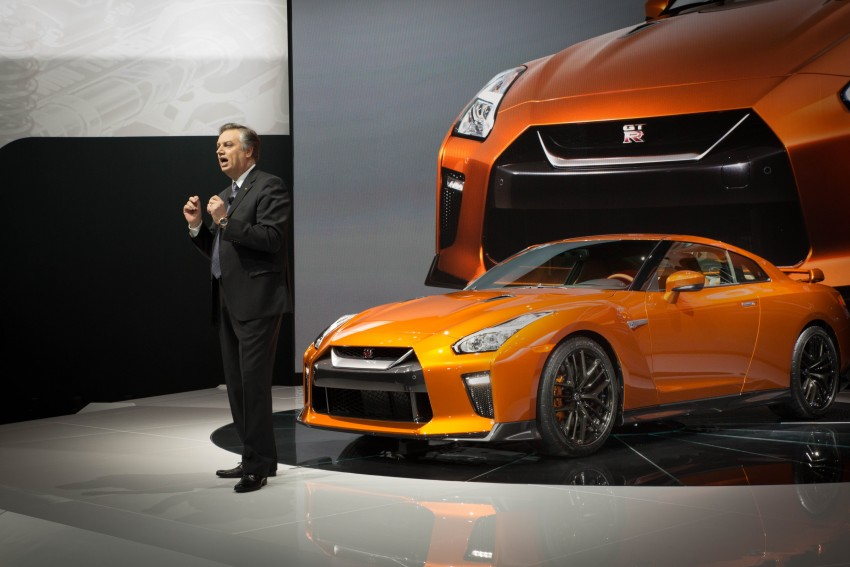 2017 Nissan GT-R shown – more premium, more power Image #465923