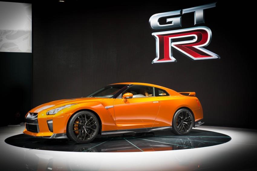 2017 Nissan GT-R shown – more premium, more power Image #465924