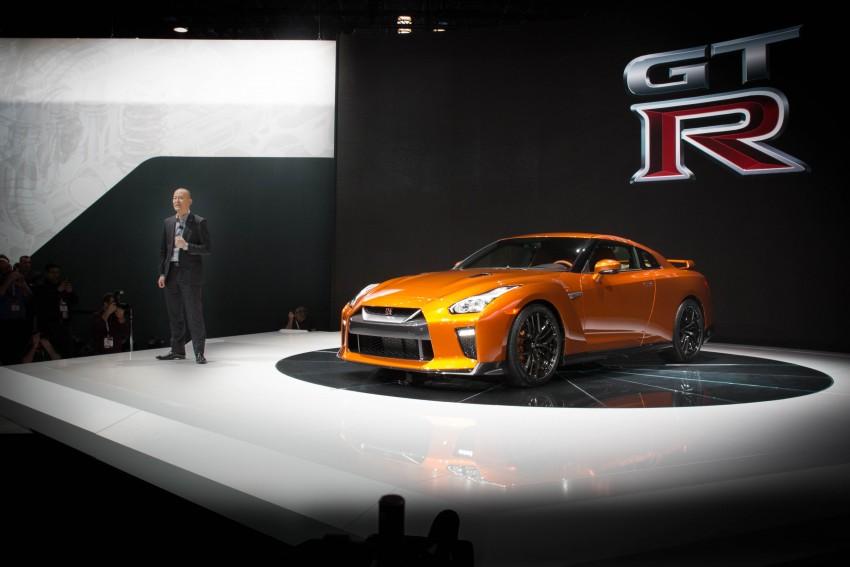 Nissan GT-R 2017 – Lebih premium, lebih berkuasa Image #466133
