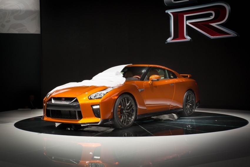 2017 Nissan GT-R shown – more premium, more power Image #465926