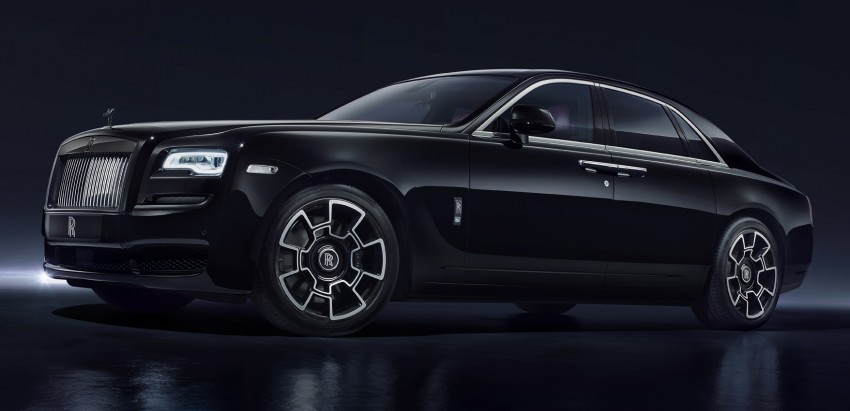 Rolls-Royce introduces new Black Badge trim for Ghost and Wraith aimed at younger buyers Image #452012