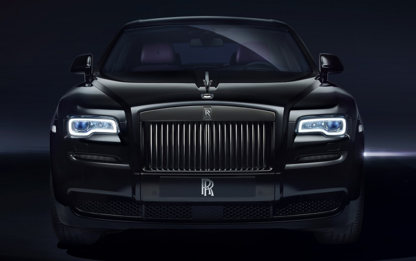 Rolls-Royce introduces new Black Badge trim for Ghost and Wraith aimed at younger buyers Image #452013