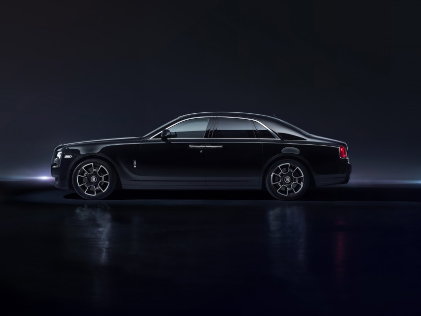 Rolls-Royce introduces new Black Badge trim for Ghost and Wraith aimed at younger buyers Image #452022